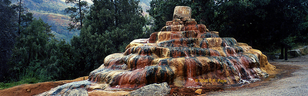 Pinkerton Hot Springs, Durango, Colorado.
